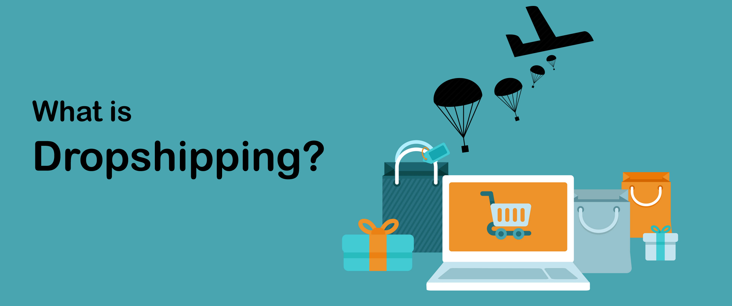 start dropshipping business  in 4 easy steps